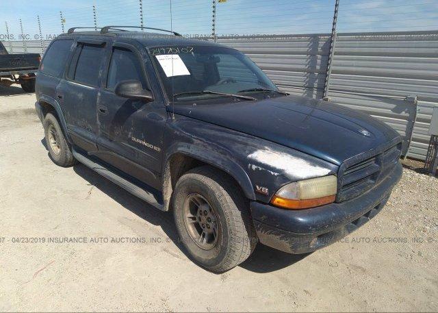 Inventory #402942272 2000 Dodge DURANGO