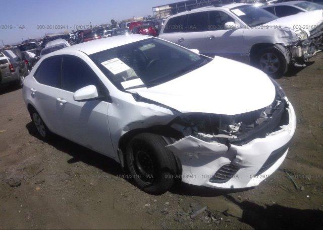 Inventory #349573048 2016 Toyota COROLLA