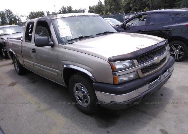 Inventory #876994252 2004 Chevrolet SILVERADO