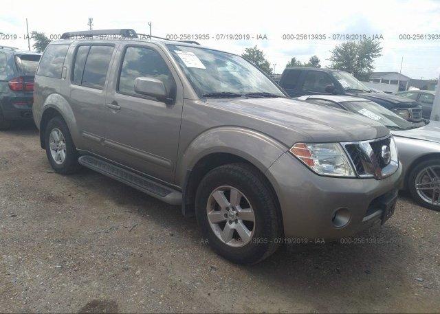 Inventory #745534544 2008 Nissan PATHFINDER