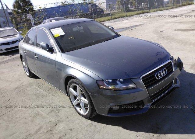 Inventory #584000061 2012 AUDI A4