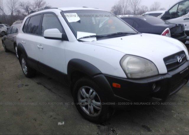 Inventory #391561060 2006 Hyundai TUCSON