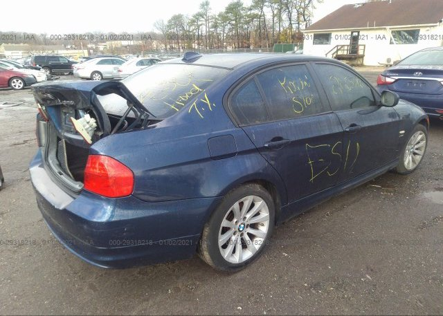 цена в сша 2011 BMW 3 SERIES WBAPK5C51BA659244