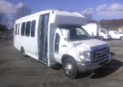 2010 FORD ECONOLINE - 1FDWE3FL0ADA52992 Left View