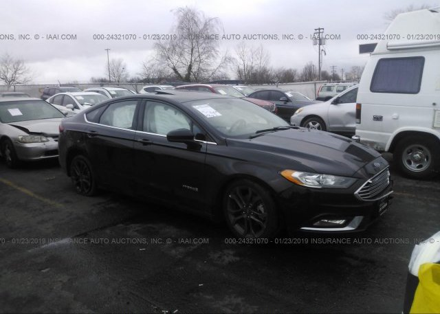Inventory #901796430 2018 FORD FUSION