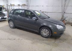 2007 Volkswagen RABBIT - WVWDS91KX7W090328 Left View