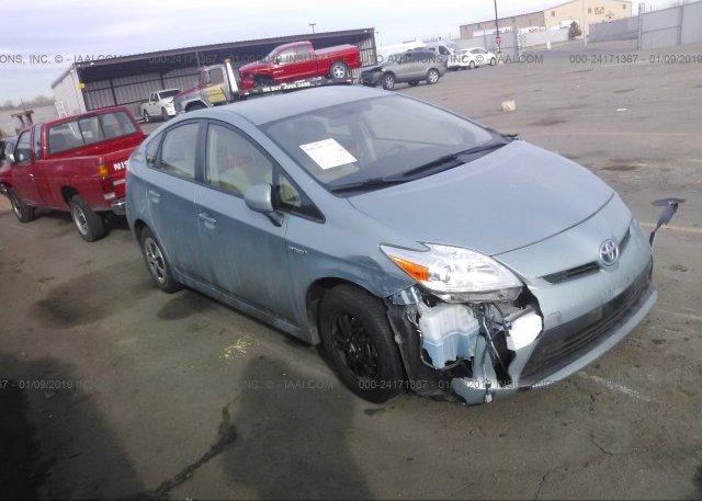 Inventory #370137200 2013 Toyota PRIUS