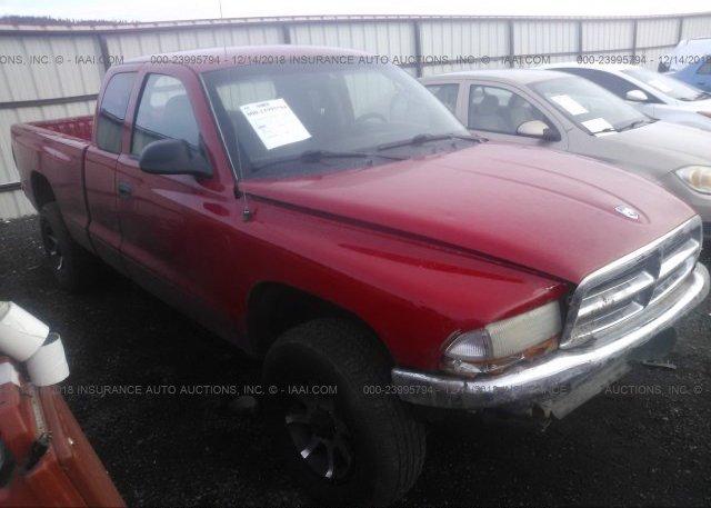 Inventory #521109421 2003 Dodge DAKOTA