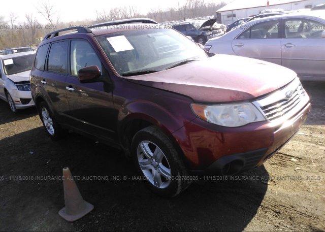 Inventory #687745480 2009 Subaru FORESTER
