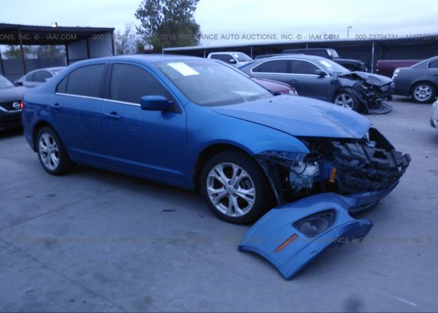 Inventory #107228497 2012 FORD FUSION