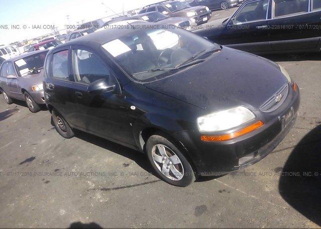 Inventory #863774665 2008 Chevrolet AVEO
