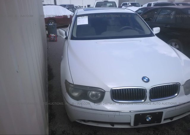 Inventory #832590169 2004 BMW 745