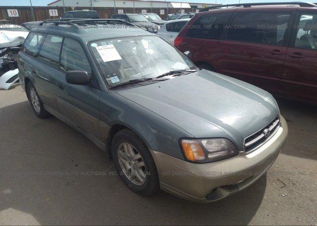 Inventory #332886137 2000 Subaru LEGACY