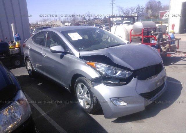 Inventory #512021830 2013 Hyundai ELANTRA