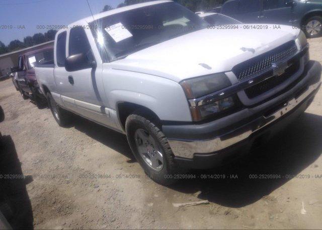 Inventory #283052407 2005 Chevrolet SILVERADO