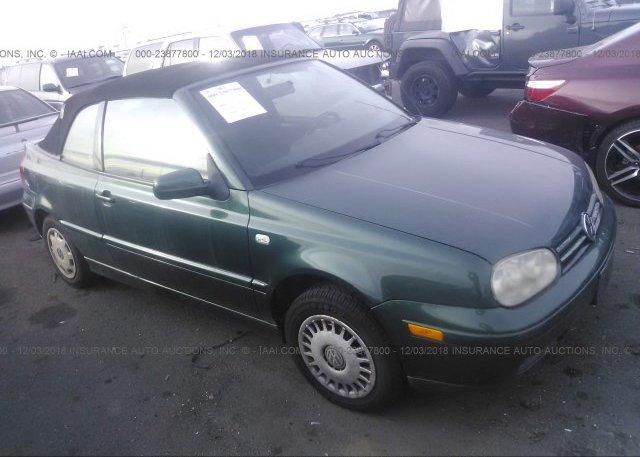 Inventory #569125102 2002 Volkswagen CABRIO