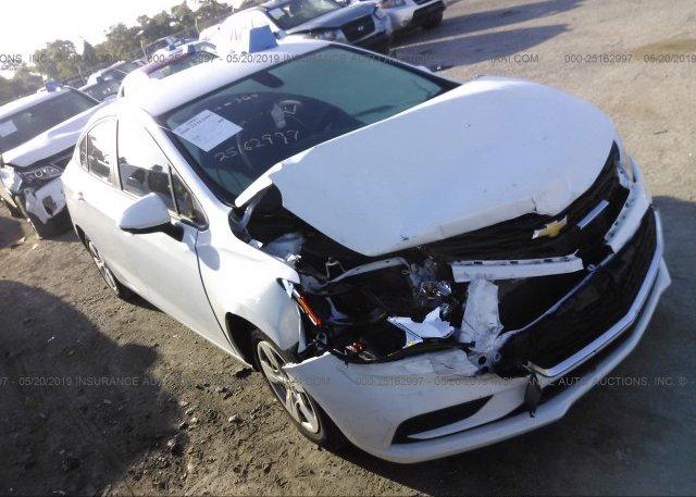 Inventory #261690908 2016 Chevrolet CRUZE