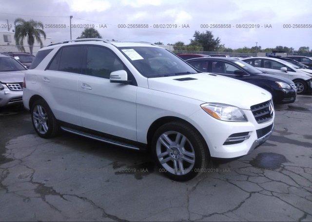 Inventory #600559107 2015 Mercedes-benz ML