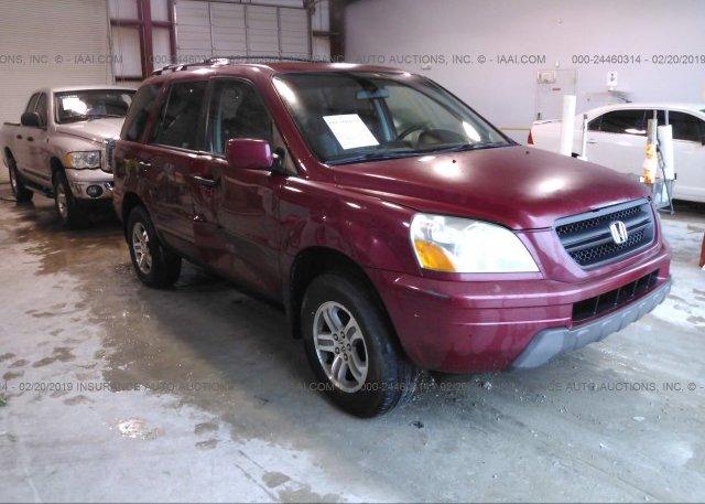 Inventory #374514985 2003 Honda PILOT