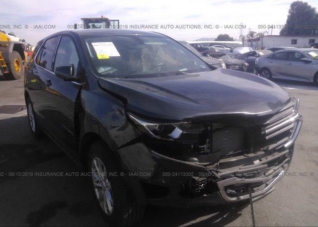 2gnaxjev2j6217799 Salvage Certificate Gray Chevrolet Equinox At Los