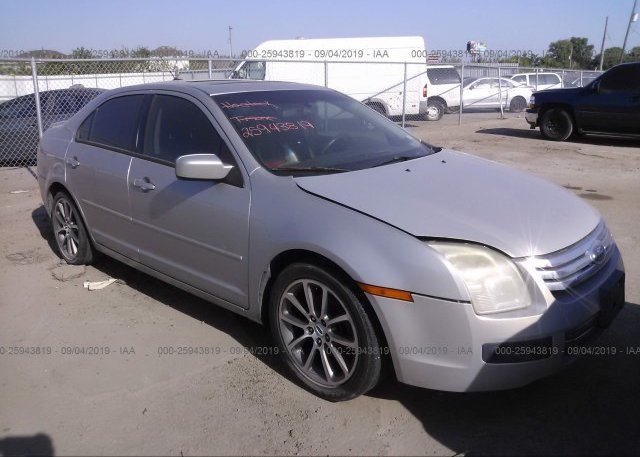 Inventory #586331035 2008 FORD FUSION