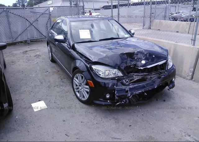 Inventory #410002511 2008 Mercedes-benz C