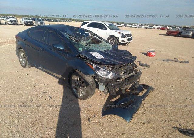 Inventory #458685499 2014 Hyundai ELANTRA
