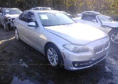 2015 BMW 528 - WBA5A5C58FD514216 Left View