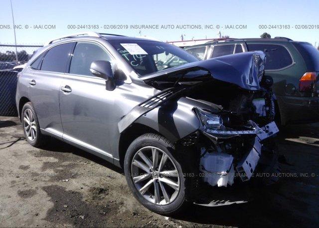 Inventory #469426106 2014 Lexus RX