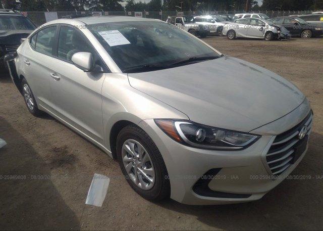 Inventory #125524392 2017 Hyundai ELANTRA