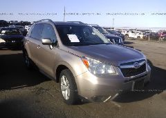2015 Subaru FORESTER - JF2SJAFC5FH536693 Left View