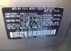 2015 Subaru FORESTER - JF2SJAFC5FH536693 engine view