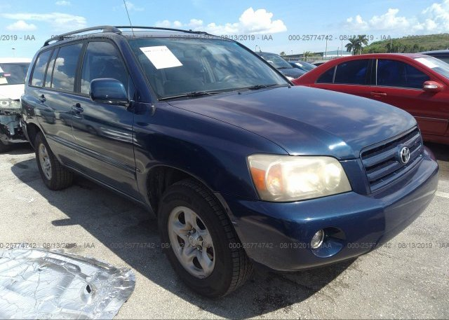 Inventory #543156093 2006 Toyota HIGHLANDER