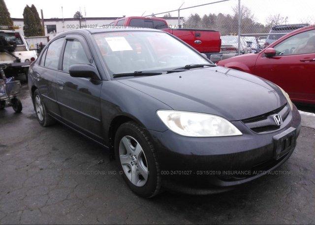 Inventory #496891125 2005 Honda CIVIC