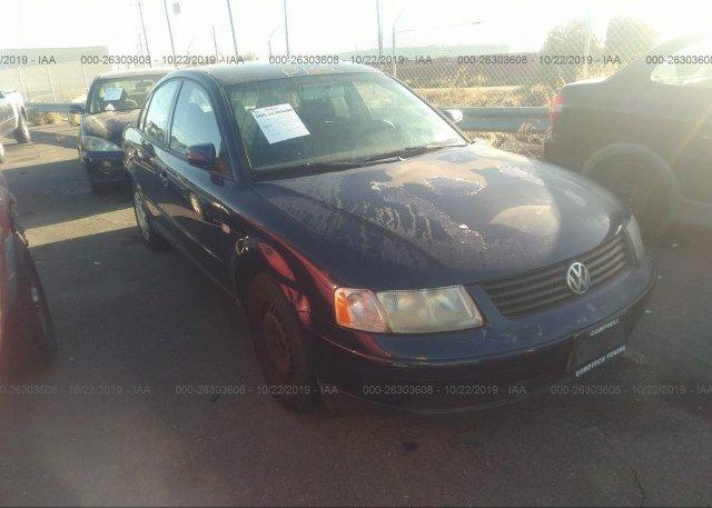 Inventory #101800122 2001 Volkswagen PASSAT