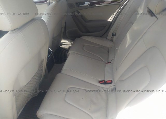 2012 AUDI A4 - WAUAFAFL2CN010978