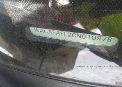 2012 AUDI A4 - WAUAFAFL2CN010978 engine view