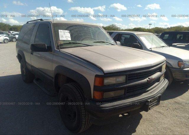 Inventory #215891753 1999 Chevrolet TAHOE