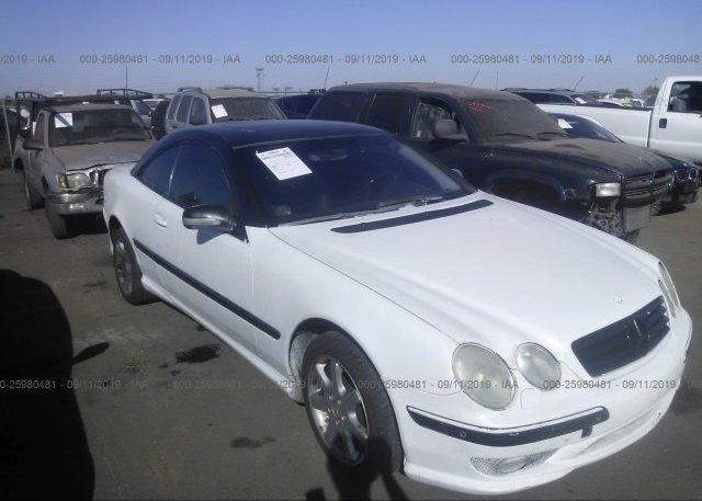 Inventory #632716690 2002 Mercedes-benz CL