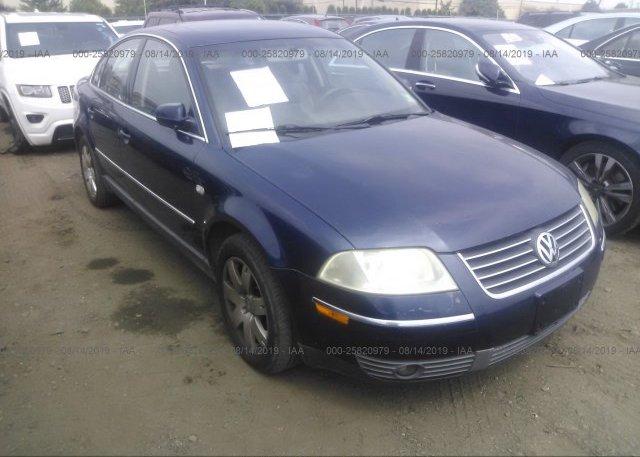 Inventory #857392719 2001 Volkswagen PASSAT
