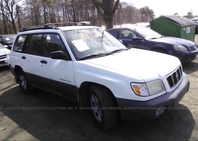 Inventory #866569777 2002 Subaru FORESTER