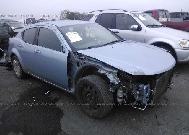 Inventory #686844232 2013 Dodge AVENGER