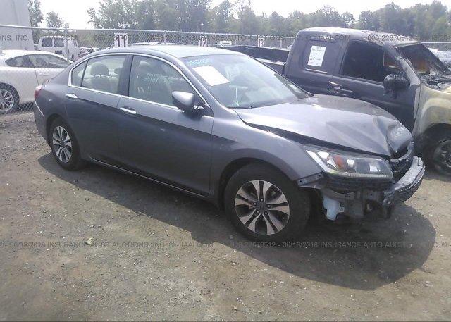 Inventory #844567385 2013 Honda ACCORD