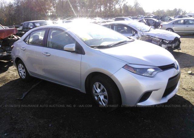 Inventory #937509840 2015 Toyota COROLLA