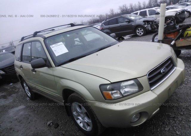 Inventory #853491172 2003 Subaru FORESTER