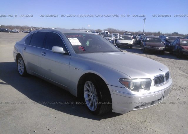 Inventory #393081020 2005 BMW 745
