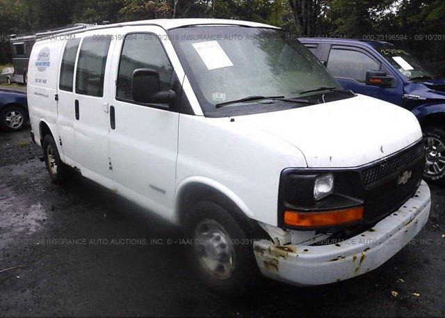 Inventory #652435324 2006 Chevrolet EXPRESS G2500