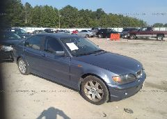 2004 BMW 325 - WBAET37404NJ43477 Left View