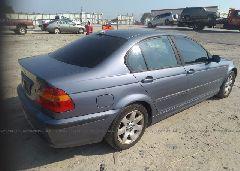 2004 BMW 325 - WBAET37404NJ43477 rear view