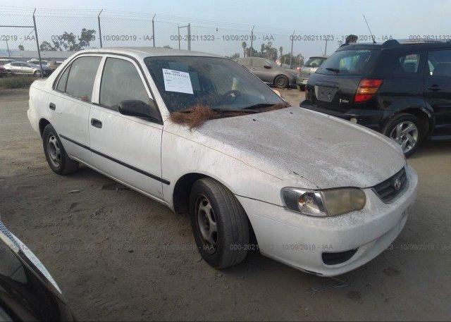 Inventory #894963463 2001 Toyota COROLLA